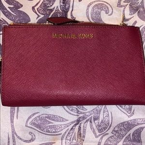 Michael Kors Adele Double Zipper Wallet